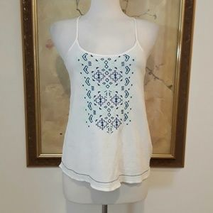 Mossimo Embroidered Tank Blouse